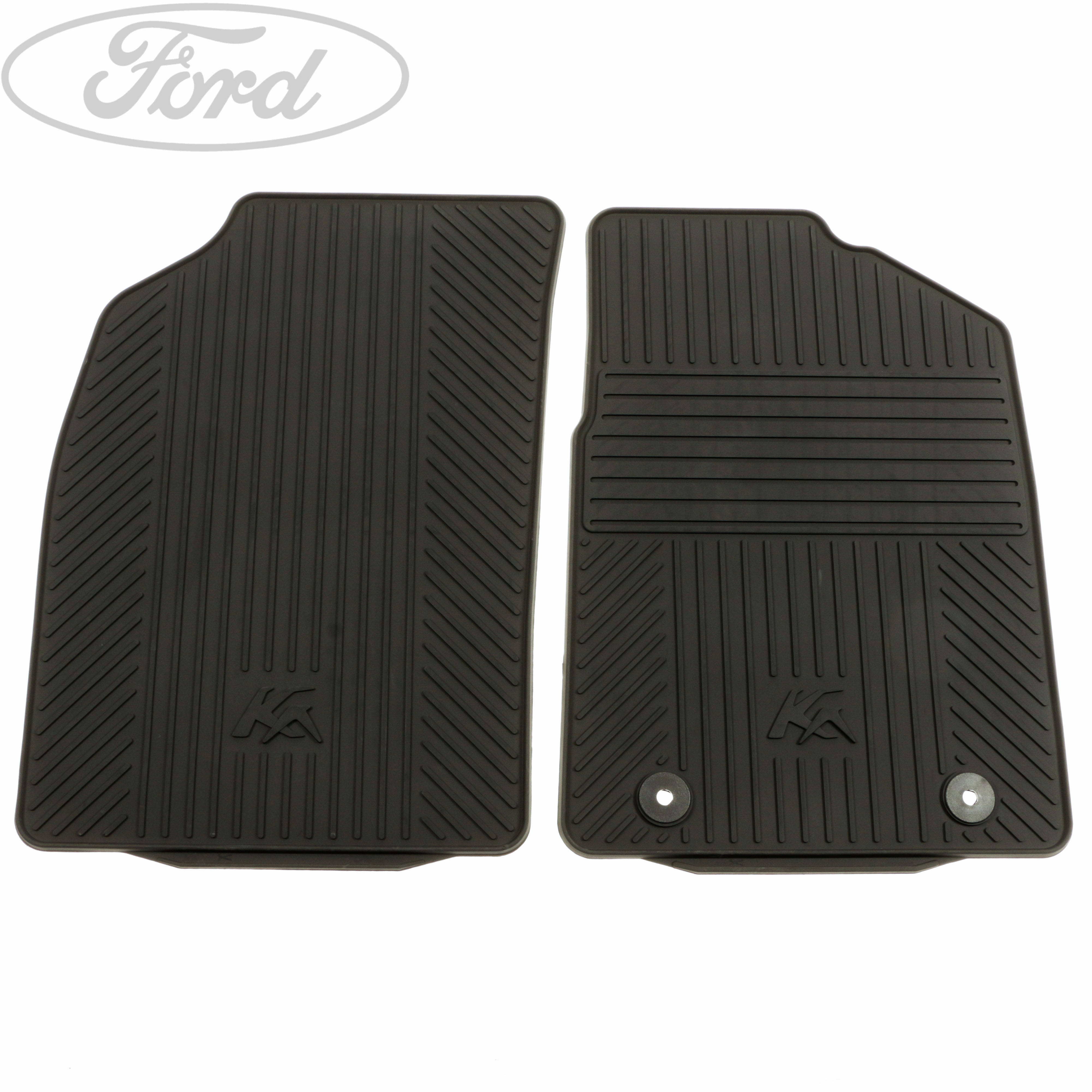 Genuine Ford Ka Front Contour Floor Mat Carpet Set Black Rubber 1806156  sc 1 st  Meze Blog & ford ka floor mats u2013 Meze Blog markmcfarlin.com